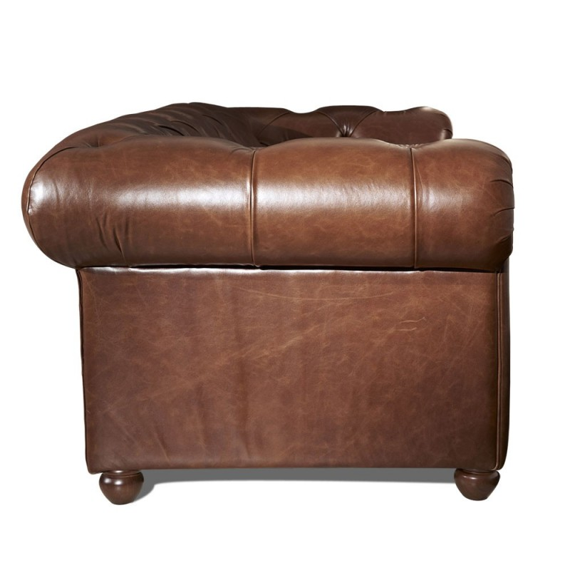 Cuir chesterfield 3 places occasion vends canap cuir - Canape chesterfield cuir occasion ...